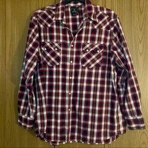 LUCKY BRAND western button down.